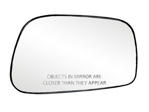 Fit System 80186 Toyota Corolla/Matrix Right Side Power Replacement Mirror Glass with Backing Plate (2005 Toyota Corolla Mirror compare prices)
