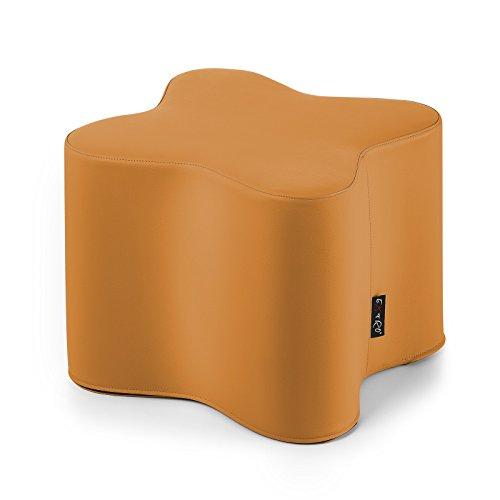 pouf-pouff-puff-puf-fiore-ecopelle-tavolino-arancio-h42xl48-cm-sfoderabile-antistrappo-arredo-soggio