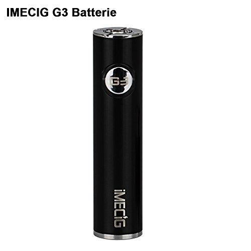 IMECIG® Original G3 Aufladbare Batterie Mit Akkustandsanzeige für e zigarette/e shisha| 510...