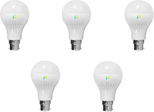Finike-5W-B22-LED-Bulb-(Yellow,-Pack-of-5)