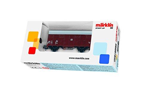 Gedeckter Güterwagen, Verpackung sortiert