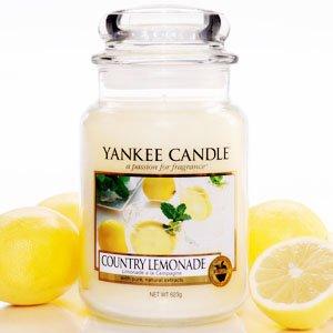 Yankee Candle Housewarmer Jar (Country Lemonade) Small (3.7oz)