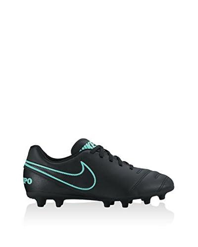 Nike Scarpa Da Calcio Jr Tiempo Rio III Fg [Grigio/Nero/Turchese]
