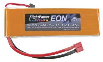 EONX30-24503S EONX 30 LiPo 3S 11.1V 2450mAh 30C