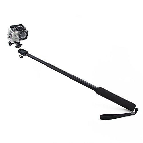 Flylinktech® Extender Pole Telescoping Handheld Self-Shot Protrait Monopod +Tripod Bracket For Gopro Hero 3 2 1 Camera Accessory
