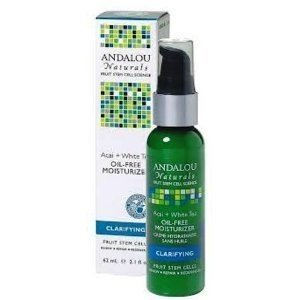 Andalou Naturals Acai Plus White Tea Oil-Free Moisturizer, 2
