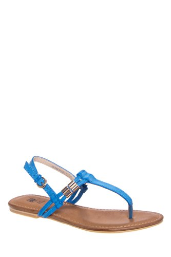 Good Choice Miami Nice Thong Flat Sandal - Blue