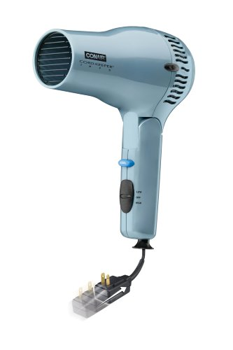 Conair 169XR Ionic Ceramic Cord Keeper 1875-Watt Hair Dryer