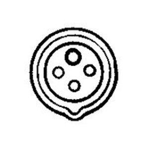 Hubbell HBL460R12W AC Receptacle IEC60309 460R12W IEC 309 Pin & Sleeve