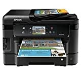 Epson WorkForce WF-3540 Wireless All-in-One Color Inkjet Printer, Copier, Scanner, 2-Sided Duplex, ADF, Fax. Prints from Tablet/Smartphone. AirPrint Compatible (C11CC31201)