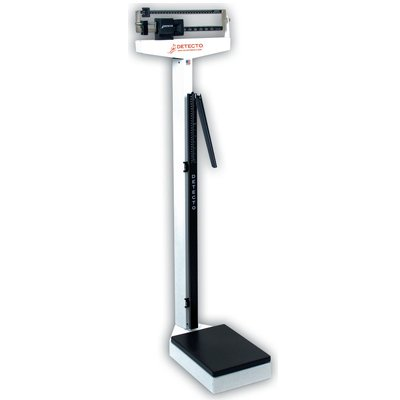Detecto Physician Beam Scales. Eye-Level Scale Weight: Wt. 35 lbs. (16kg)