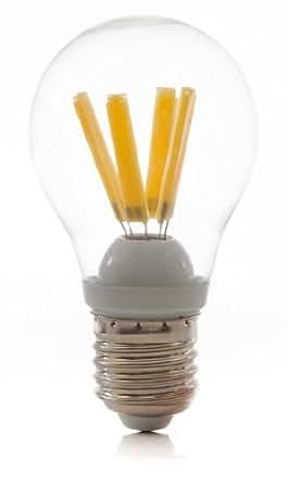 5 x LED Birne, 4 Watt, E27, 470 Lumen, 3000K, warmweiß