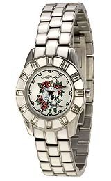 Ed Hardy Women's Chic-White Rose watch #CH-WS