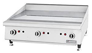 """Garland GTGG72-GT72 72"""" Heavy Duty Snap-Action Gas Griddle"""