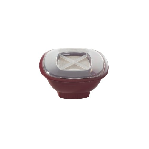 Nordic Ware Microwave Popcorn Popper, Red front-496911