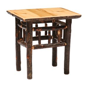 Cheap Fireside Lodge Hickory Open End Table 84010 / 84011 / 84013 (84010 / 84011 / 84013)