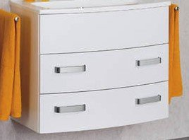Lanzet S2.1 80 Cabinet, White, 2 Drawers