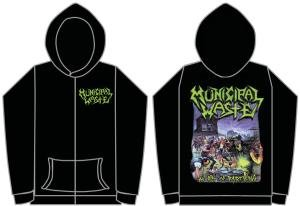 Municipal Waste (The Art Of Partying) Hoodie black Medium