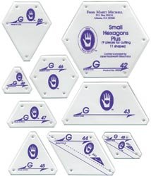 MartiMitchell Small Hexagon Shapes Set G
