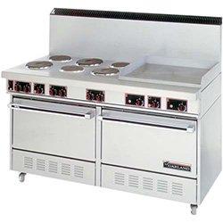 "Garland Ss-684-24G Garland Ss-684-24G - Electric Range, 60""W, 6 Burners, 2 Ovens, 24"" Griddle"