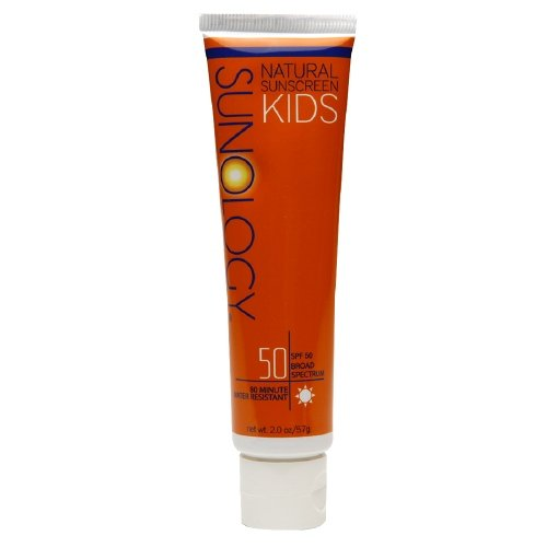Theme Park Food and Safety EWG 2016 Top Rated Sunscreen for Kids - Sunology Natural Sunscreen Kids Lotion SPF 50 2 oz