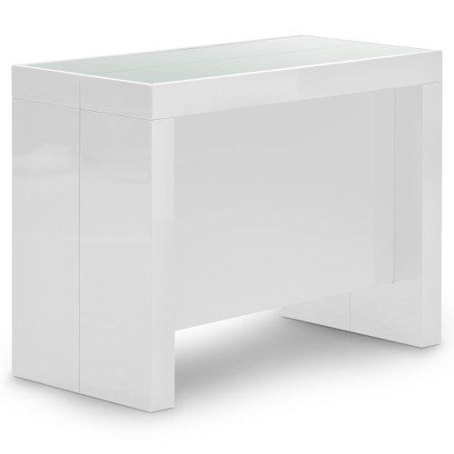 table console laque blanc pas cher. Black Bedroom Furniture Sets. Home Design Ideas
