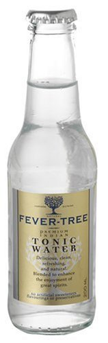 Fever-Tree Premium Indian Tonic Water, 6.8-Ounce Glass Bottles (Pack of 24)