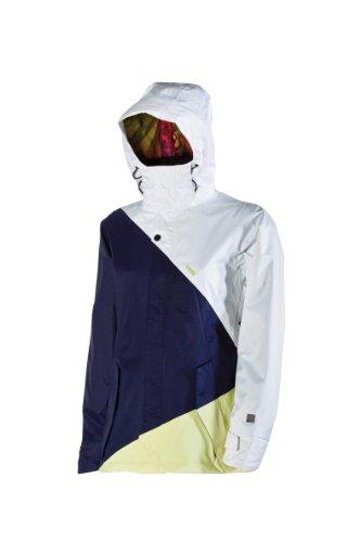 Nitro Snowboards Damen Jacke SIREN 13, white-ink twill, M, 1131-873025