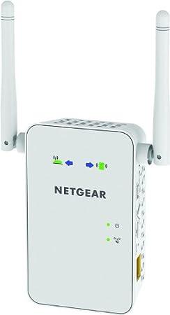 Netgear EX6100-100PES Répéteur Universel Wi-Fi AC750 Dual Band Blanc
