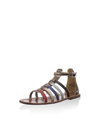 Pepe Jeans London Sandalias planas Jane Multi Color Straps
