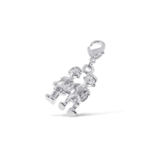 Addicting Charms 3D Sweet Boy Girl Charm for