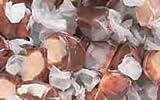 Chocolate Malt Gourmet Salt Water Taffy 1 Pound Bag