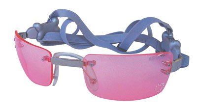 Dog Sunglasses with Hearts & Pink Lens - X-Small