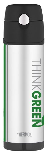 Thermos Drink Green Insulated Hydration Bottle
