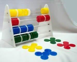 Abacus Bird Toy – Large – Level 2 (Zoo-Max)