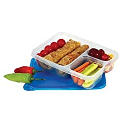 Classy Disposable Lunch Box 3 Compartment / DISPOSABLE LUNCH BOX (Set of 5)