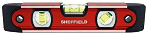 Sheffield 58640 9-Inch Magnetic V-Groove Torpedo Level