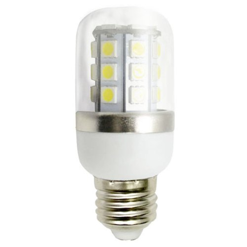 E27 Base 6W Led Light 30 Smd 5050 Led Corn Light Lamp With Transparent Cover Ac 85-265V