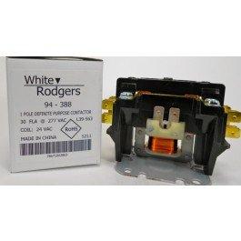 White Rodgers 94-388 1-Pole Definite Purpose Contactor