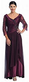 Mother of the Bride Formal Evening Dress 2552