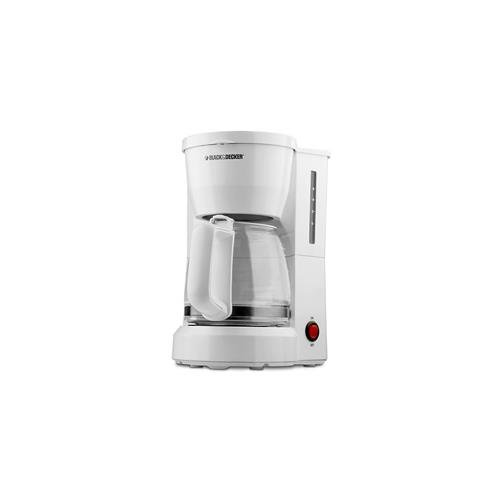 Black and Decker DCM600W B&D Dcm600w White Coffeemaker 5Cup Lighted On Off Switch