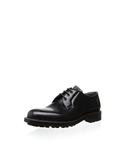 Alexander McQueen Men's Zipper Trim Oxford