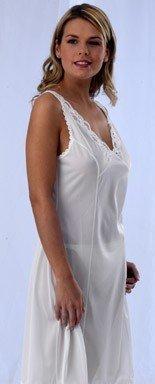 Marlon Full Slip Petticoat Black White UK 12-26