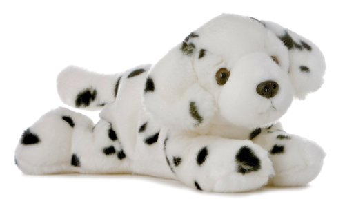 Domino Dog Flopsie - 12""