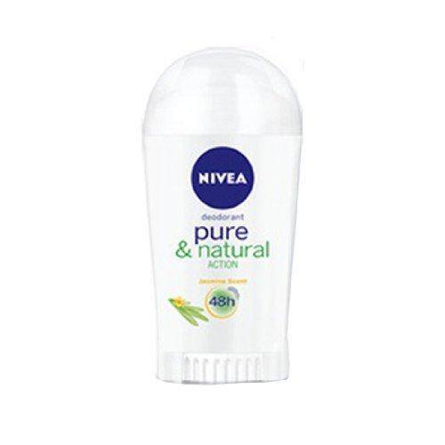 ニベア デオドラント ピュアー& ナチュラル アクション スティックタイプ deodorant Pure&natural action 韓国