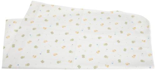 Carters Keep Me Dry Waterproof Flannel Crib Pad Frogwhite