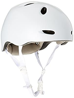 Bern Women's Berkeley Zip Mold Helmet - Satin White, Medium/Large/54-59 cm from Bern
