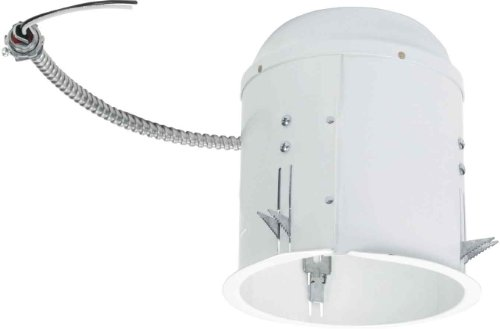 Halo Recessed Ml7Bxrfk 6-Inch Led Retrofit Enclosure, Bx Direct-Wiring Whip For Halo 6-Inch Led Modules