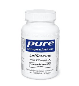 Pure Encapsulations Ipriflavone With Vitamin D3 90 Vcaps