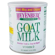 Meyenberg, Goat Milk Pwdr Can, 12 OZ (Pack of 12)